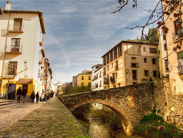 Donde ir en Granada/ Paseo de Los Tristes