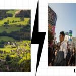 5 ventajas del turismo rural frente al turismo urbano