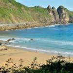Playa de Aguilar en Asturias