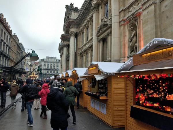 que visitar bruselas navidad