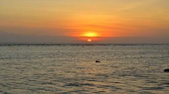 Islas Gili atardecer