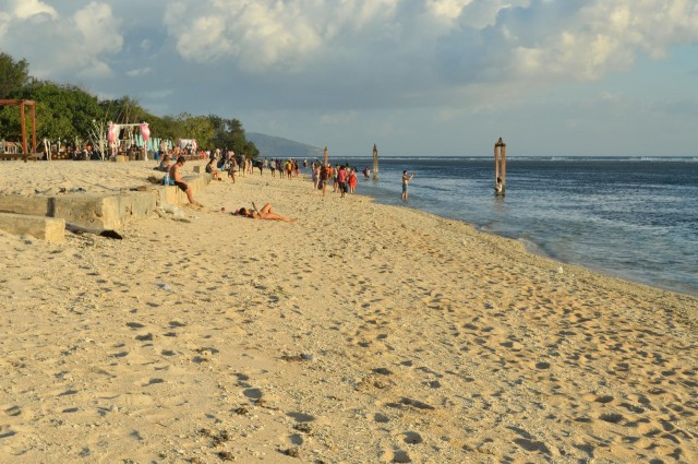 Islas Gili playa